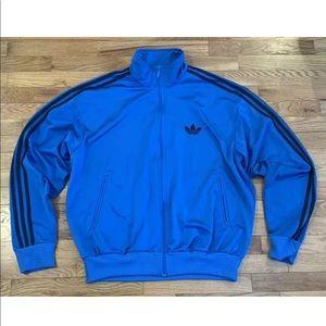 Adidas Vintage Blue Track Jacket Men's Size XL